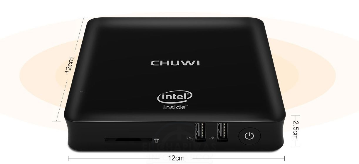Chuwi HiBox: Mini-PC con Atom x5-Z8350, 4GB RAM y W10 por 118 euros