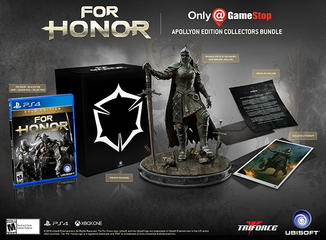 For Honor Apollyon Collectors Edition 0