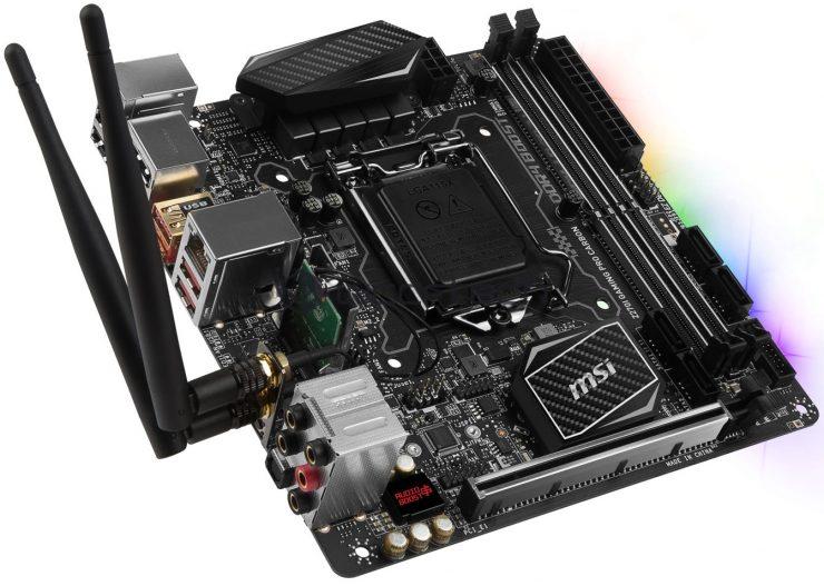 MSI Z270 Gaming M7, Gaming M5, Gaming Pro Carbon & Z270I