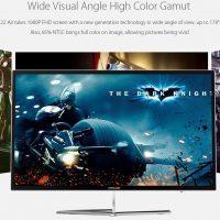 Teclast X22 Air: All-in-One de 21.5″ con CPU Celeron + 4GB RAM por 238€