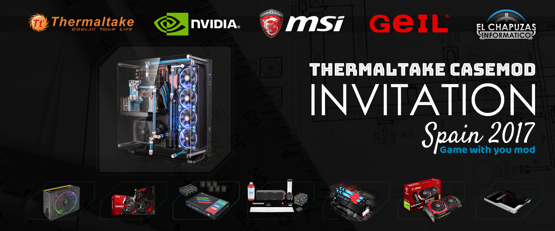 Thermaltake CaseMod Invitation Spain 2017