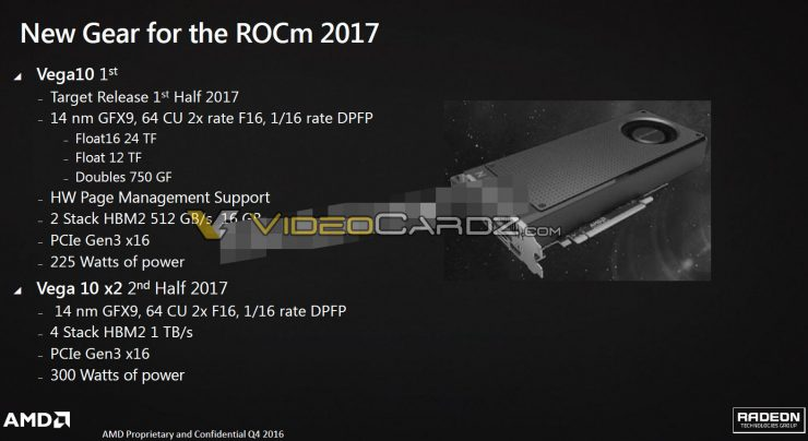 AMD VEGA 10 specifications 740x404 1