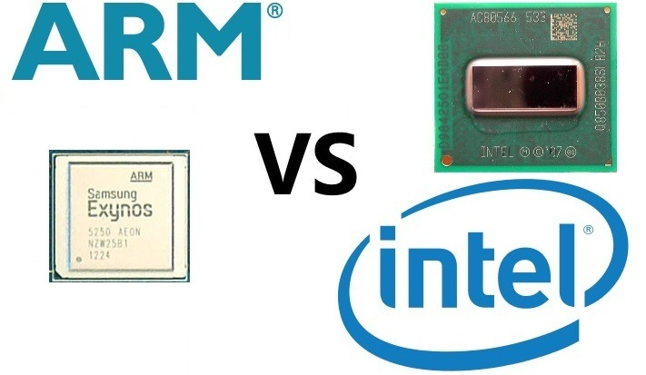 ARM vs Intel x86 0
