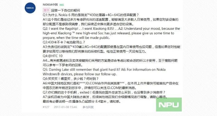Anuncio Nokia Snapdragon 835 0