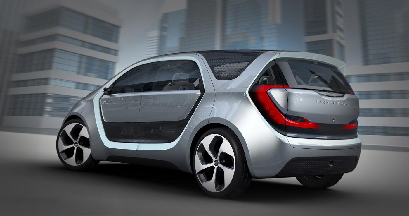 Chrysler Portal: Vehículo eléctrico semi-autónomo con cámara selfie