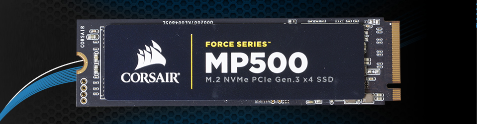 Review: Corsair Force MP500 M.2 NVMe PCIe Gen.3 x4 SSD