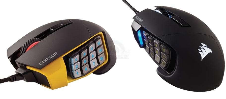 Corsair SCIMITAR PRO RGB: Ratón gaming para MMO y MOBAs