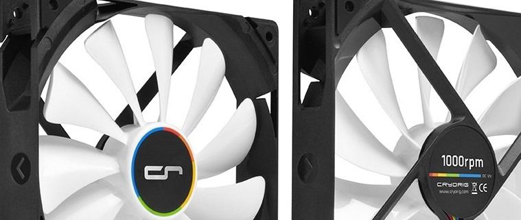 Cryorig QF140 Performance & QF140 Silent: Alto rendimiento o silencio