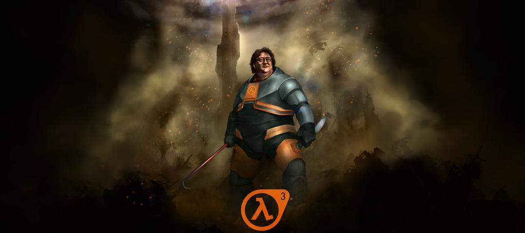 Gabe Newell: Valve trabaja en nuevos juegos, el número 3 no debe ser dicho
