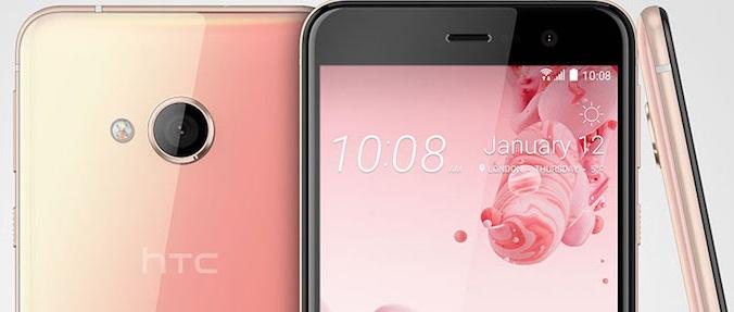 HTC U Play anunciado: 5.2″ 1080p, Helio P10 y 2500 mAh