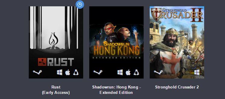 Humble Bundle: Rust, Crusader II y 4 juegos más por 4 euros