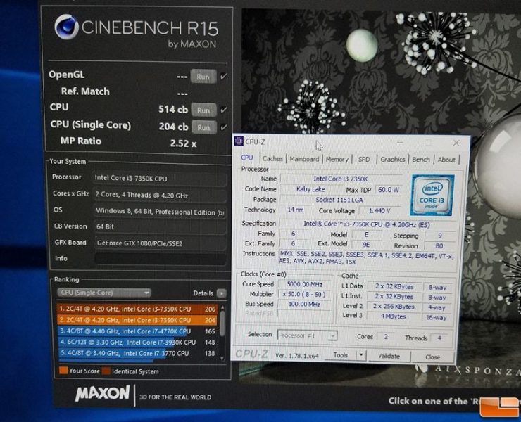 Intel Core i3 7350K Cinebench R15 740x600 0