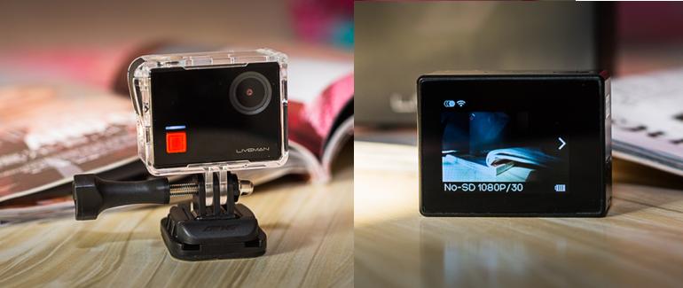 Liveman C1: La cámara deportiva 4K de LeEco