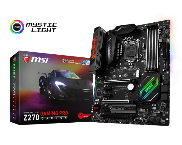 MSI Z270 Gaming Pro Carbon Oficial 1