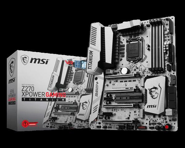 MSI Z270 XPower Gaming Titanium Oficial 1
