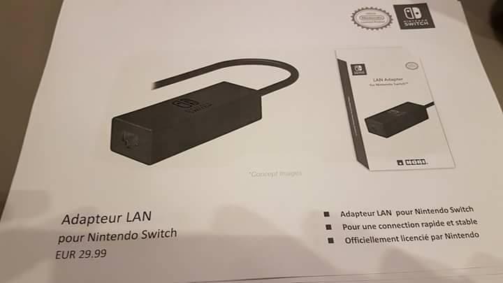 Nintendo Switch accesorios filtrados 3 5