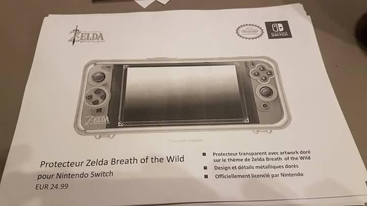 Nintendo Switch accesorios filtrados 4 6