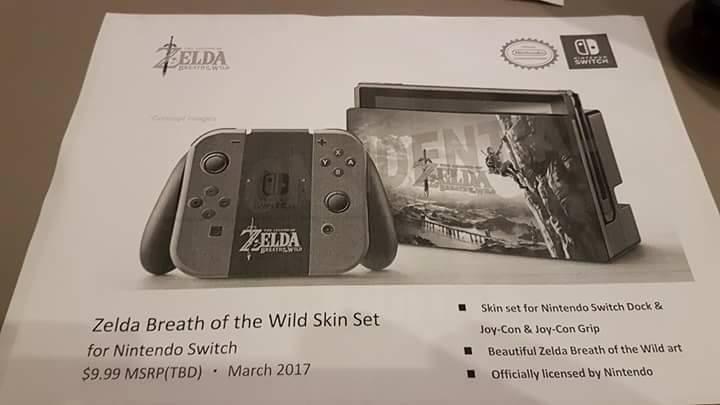 Nintendo Switch accesorios filtrados 5 7