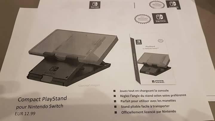 Nintendo Switch accesorios filtrados 8 10