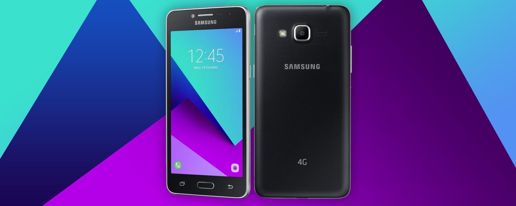 Samsung Galaxy J2 Ace anunciado, un gama baja con SoC MediaTek