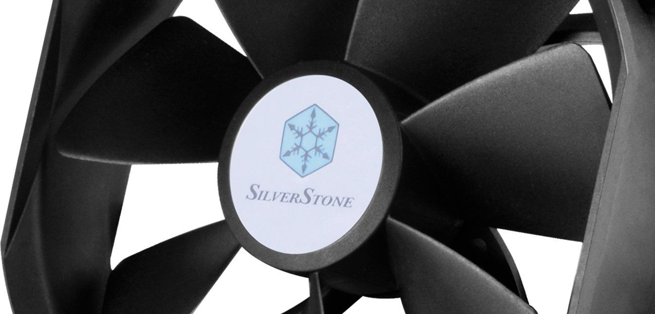 SilverStone FHP141-VF: Alta presión estática y flujo de aire reversible