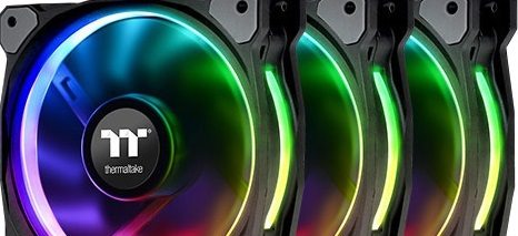 Ventiladores Thermaltake Riing Plus 12 LED RGB Radiator Fan TT Premium