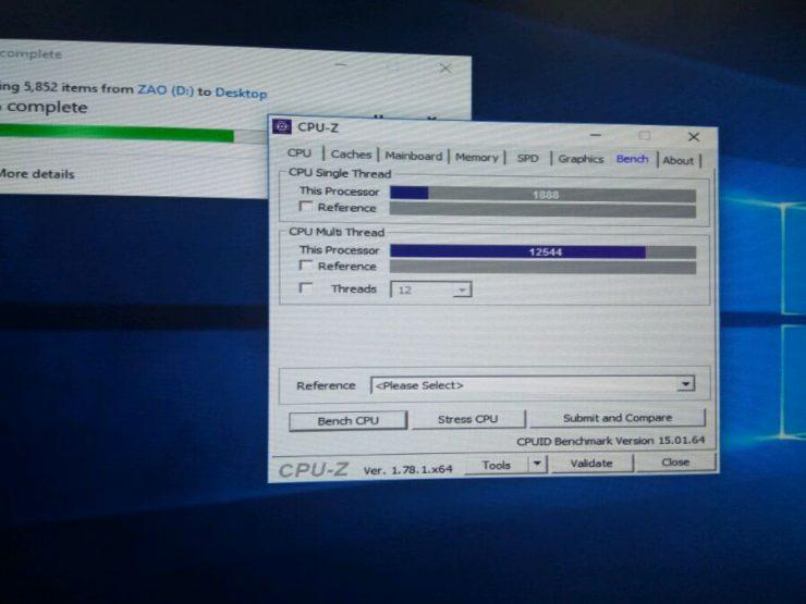 AMD Ryzen 5 1600X CPU Z Benchmark 740x555 1