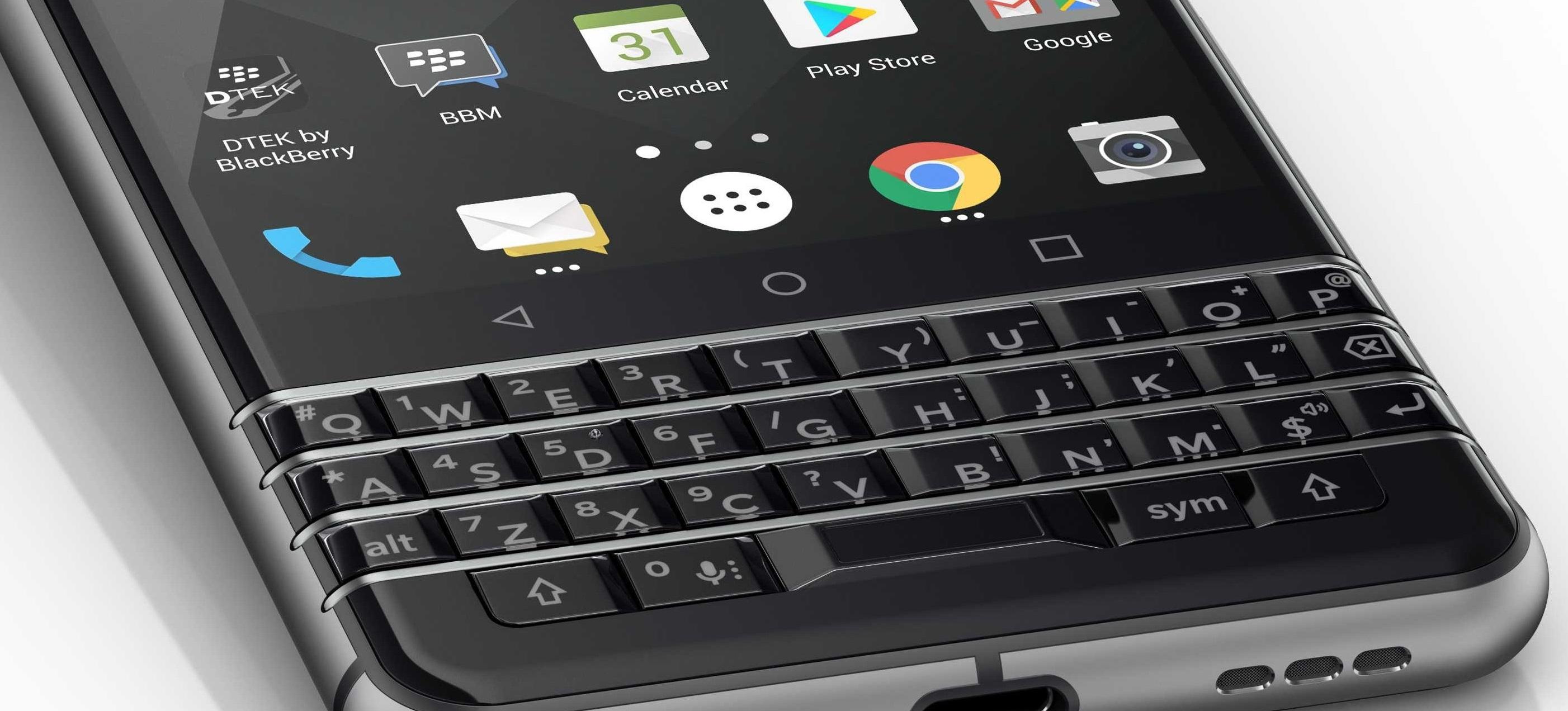 La BlackBerry Keyone aparece para su pre-compra por 599 euros