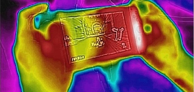 La Nintendo Switch funciona a unos 38ºC a pleno rendimiento