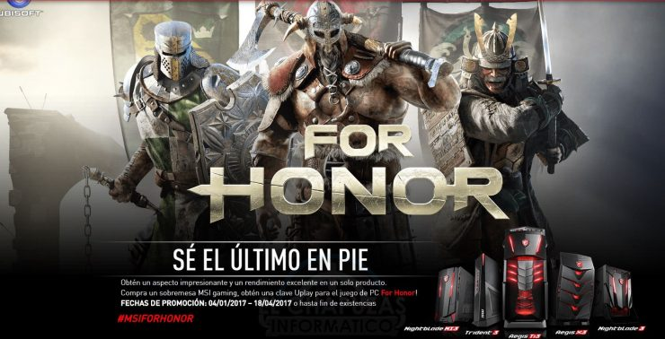 Oferta MSI For Honor 740x378 1
