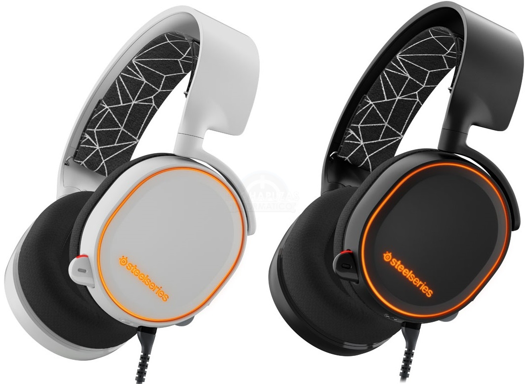 SteelSeries Arctis 5: Audio 7.1 virtual e iluminación RGB
