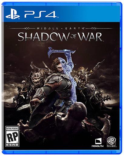 Tierra Media Sombras de la Guerra caja PS4 1 1