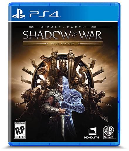 Tierra Media Sombras de la Guerra caja PS4 2 2