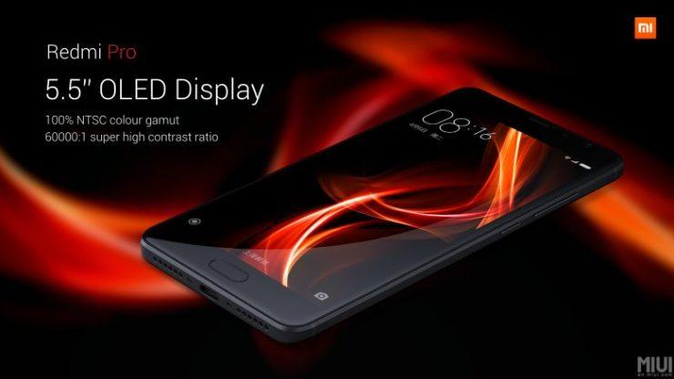 Xiaomi Redmi Pro panel OLED chino 740x416 0