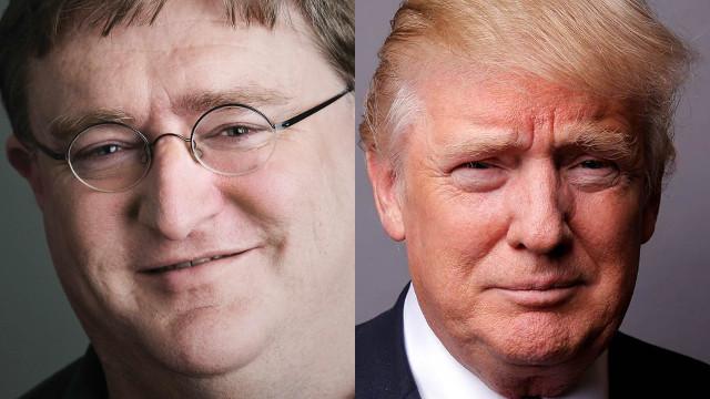 Gabe Newell considera que las medidas de Trump son perjudiciales para Valve