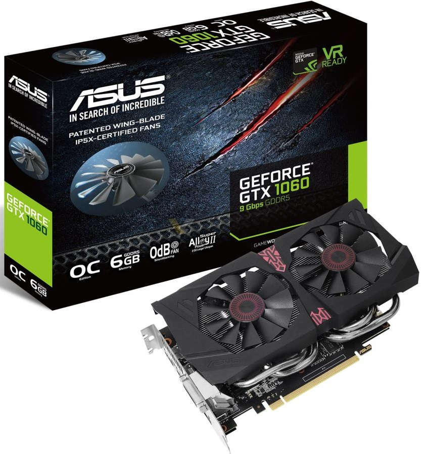 Asus Strix GeForce GTX 1060 9Gbps 1