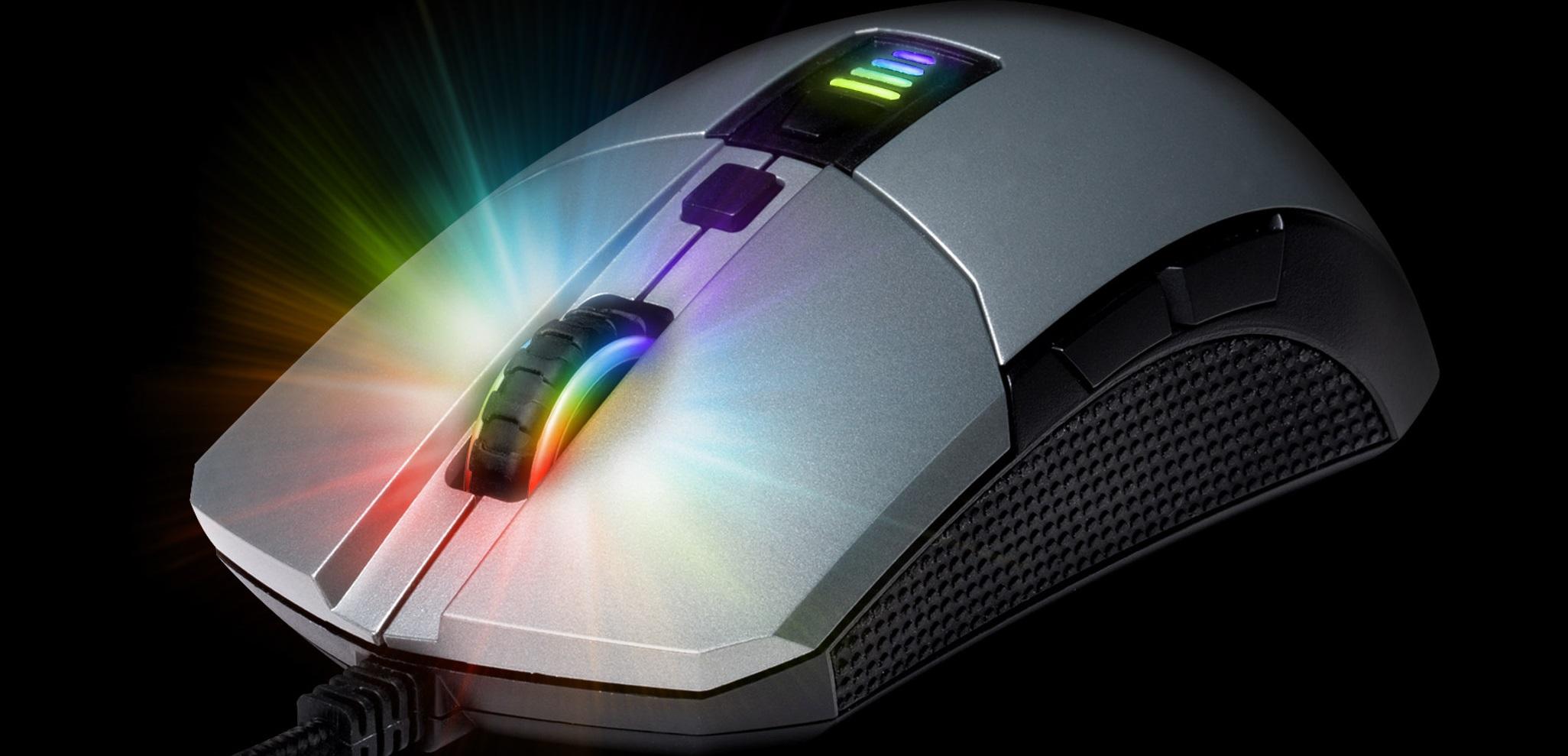 EpicGear Morpha X: Ratón modular RGB con doble sensor y pulsadores