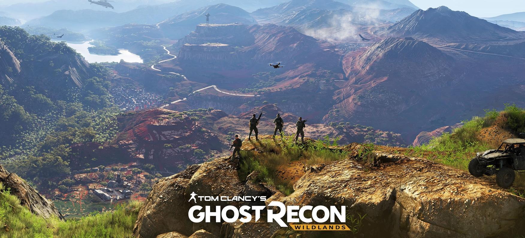 Ghost Recon: Wildlands estrena tráiler de lanzamiento