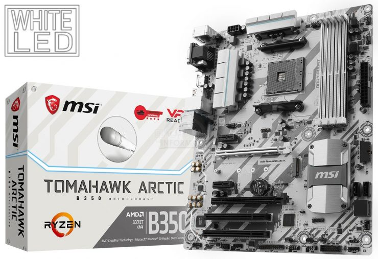 MSI B350 Tomahawk Arctic 740x507 0