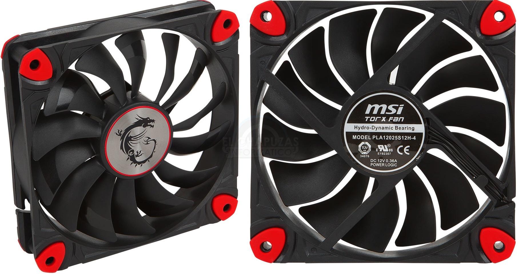 MSI TORX: El primer ventilador para chasis de MSI