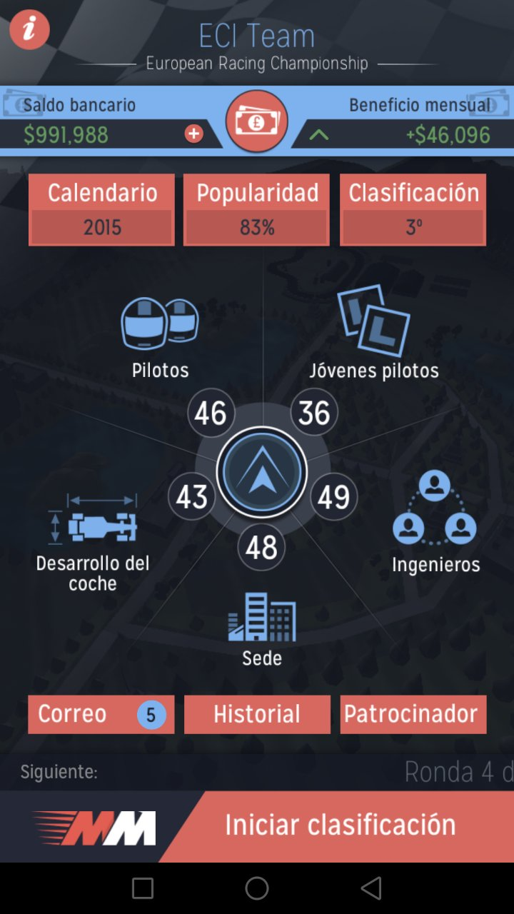 Motorsport Manager Android 1 0