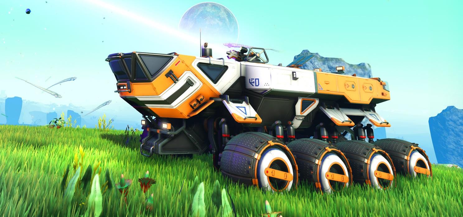 No Man's Sky – Path Finder Update: Vehículos terrestre, texturas Ultra y mucho más