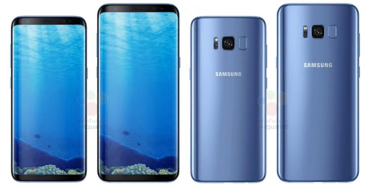 Samsung Galaxy S8 y Galaxy S8 azul 740x366 0
