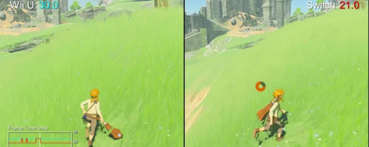 The Legend of Zelda Breath of the Wild Wii U vs Nintendo Switch 740x295 0