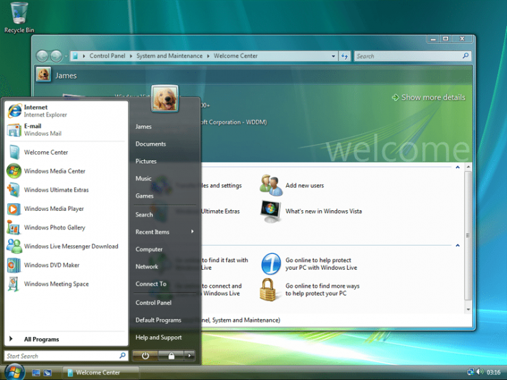 Windows Vista 740x555 0