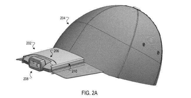Google patenta una gorra equipada con una cámara, la 'Google Hat'