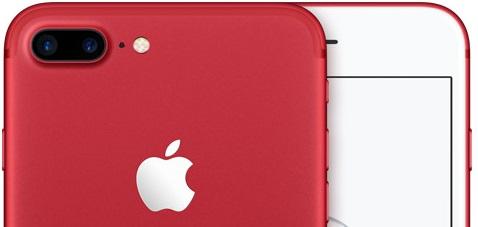 El iPhone 7 llega en color rojo el próximo 24 de Marzo
