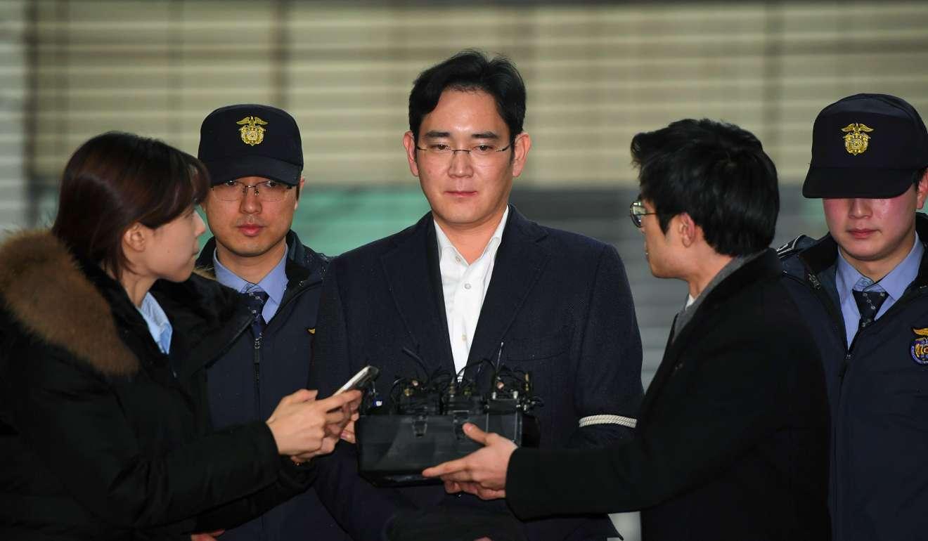 Lee Jae Yong, el heredero de Samsung, acusado de presunto soborno