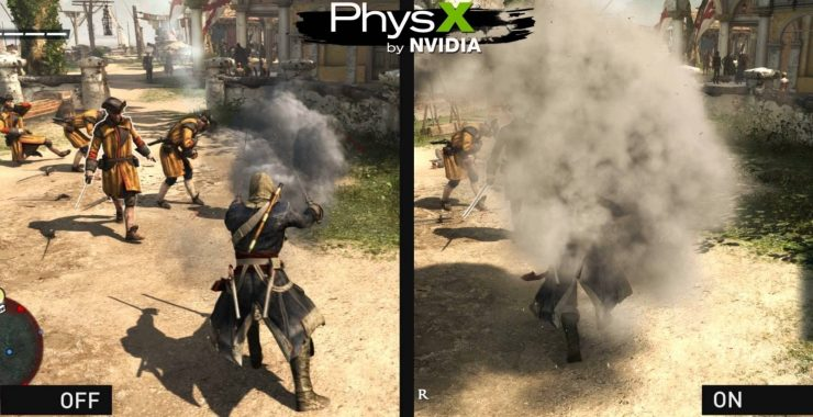 Assassins Creed IV Black Flag tecnología Nvidia Turbulence 740x380 0
