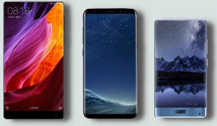 Doogee MIX vs Galaxy S8 vs Xiaomi Mi Mix 740x431 0